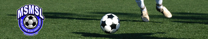 The Metro Senior Men's Soccer League - soccer games in Halifax, Nova Scotia.  Many former Dalhousie and Saint Marys players
